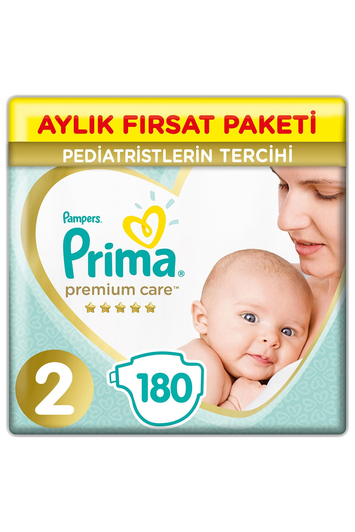 Premium Care 2 Beden Aylık Fırsat Paket 180'li