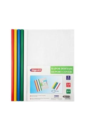 Bigpoint Sıkıştırmalı Rapor Dosyası 11mm - 5 Renk 0