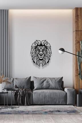 Decoration and You Aslan Dekoratif Metal Tablo Lazer Kesim 0