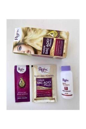 AGISS 2 Paket Yoğun Saç Açıcı Powder Besleyici Etkili + Bakım Onarım 2