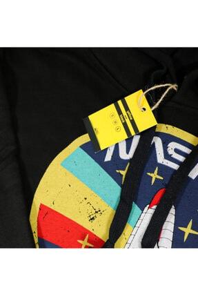Yellow and Black Store Nasa Kapüşonlu Sweatshirt Sweat Hoodie Unisex 4