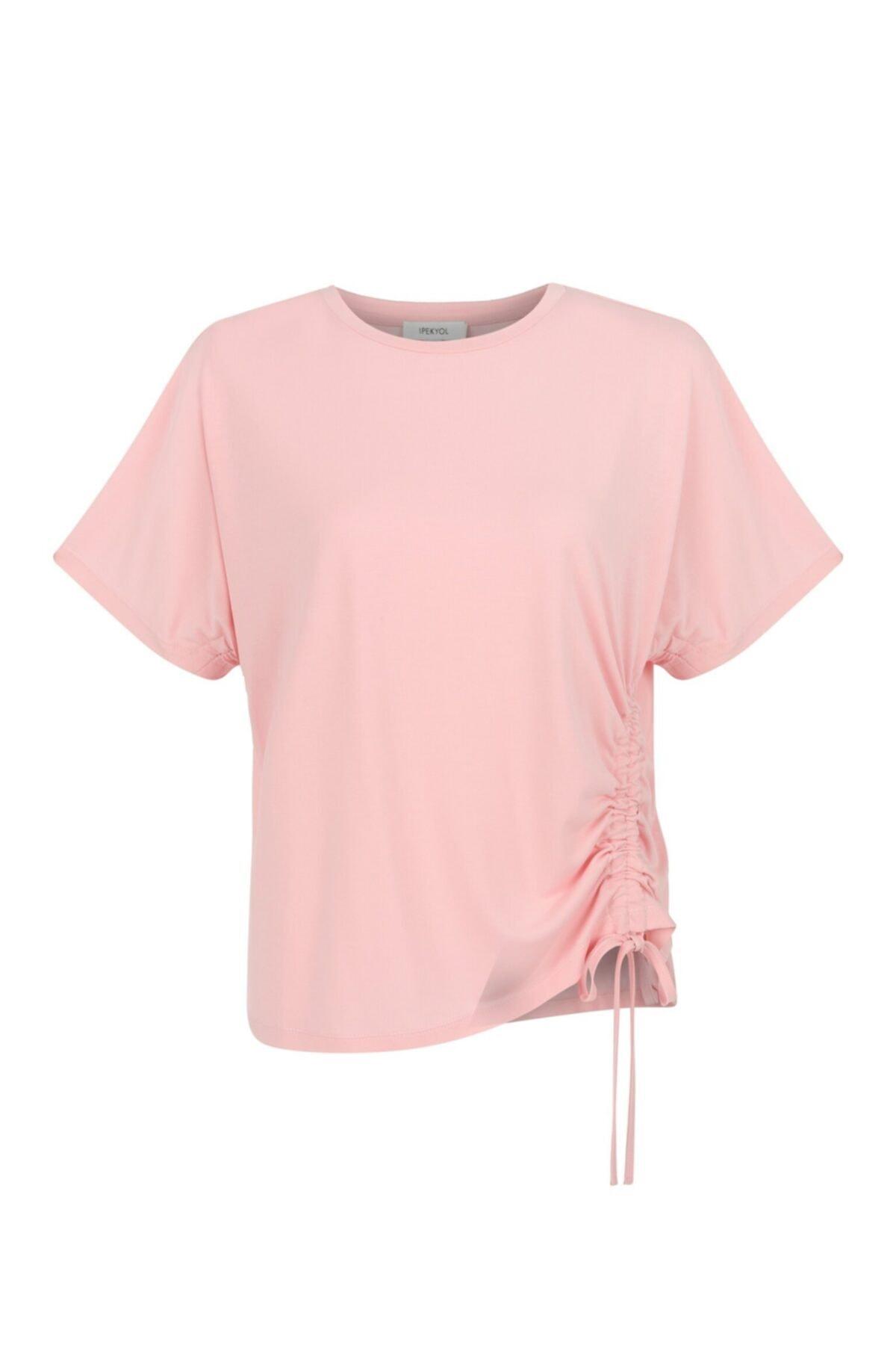 İpekyol Ayarlanabilir Bel Tshirt