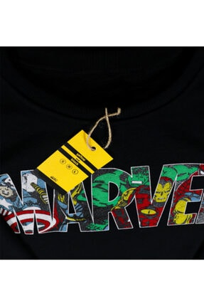 Yellow and Black Store Marvel Sweatshirt Hoodie Unisex 4