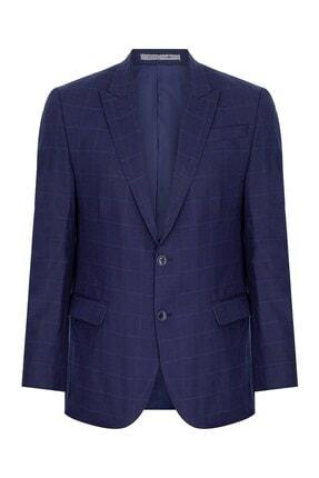 İgs Erkek Lacivert Slım Fıt / Dar Kalıp 9cm Kırlangıç Takım Elbise 1