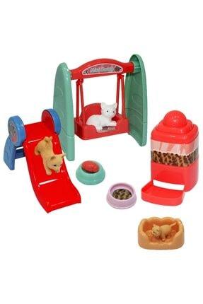 Elasya Hediyelik Mini Kedi Parkı Seti 0