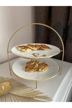 Pınar Porselen Gold Katlı Sunumluk 1