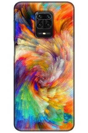 Noprin Xiaomi Redmi Note 9s Kılıf Silikon Baskılı Desenli Arka Kapak 0