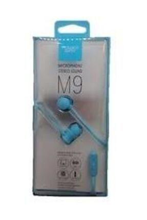 Powerway M9 Mikrofonlu Kulaklık (Mavi) 0