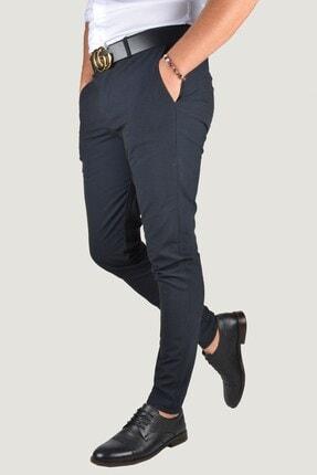 Terapi Men Erkek Lacivert Keten Pantolon 9Y-2200196-008 2