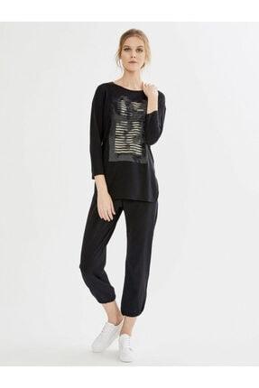 Xint Kadın Siyah Tişört 1
