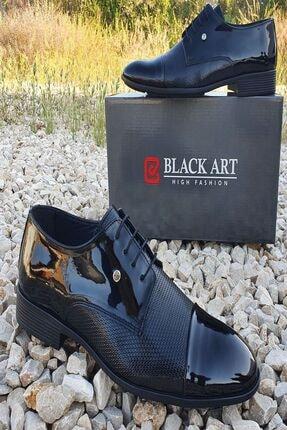 Ayakkabı Rugan Özel Tasarım rugan siyah 109