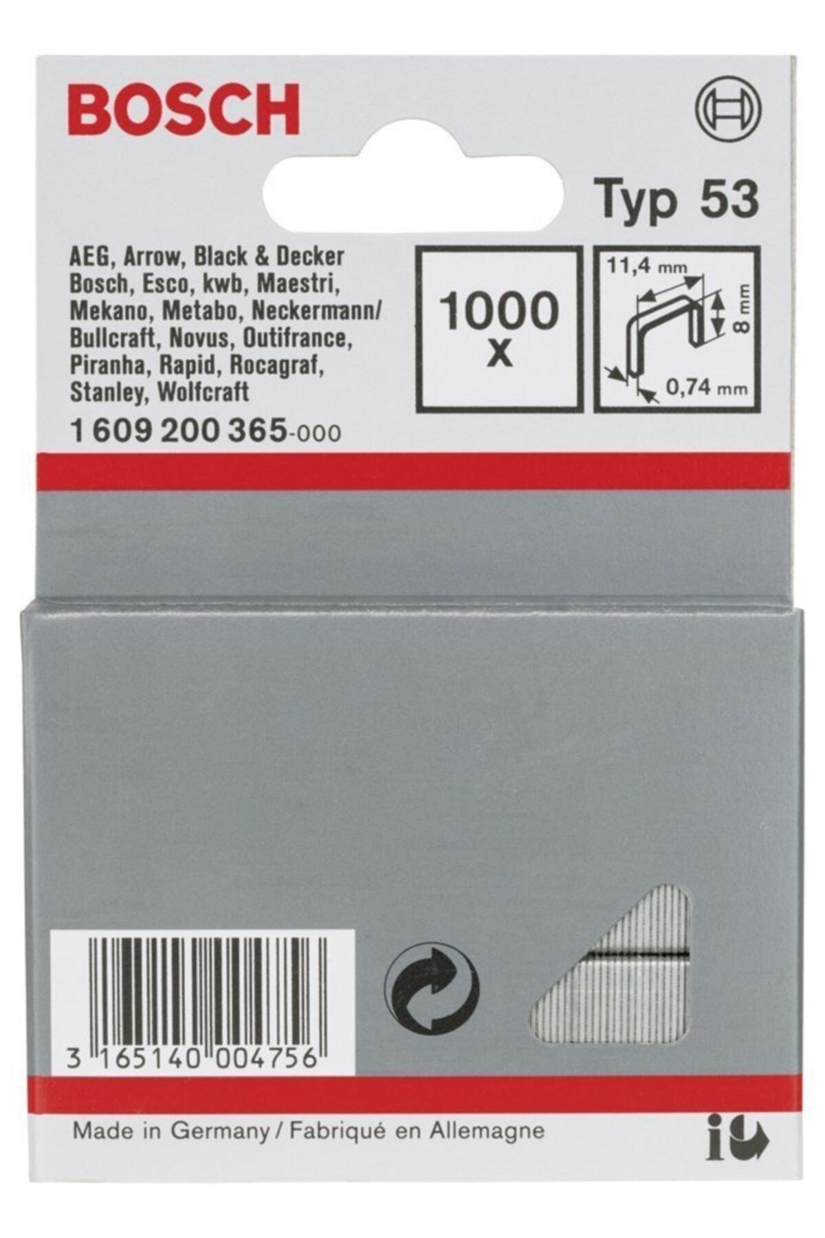 Bosch Zımba Teli Tip 53 11,4*0,74*8 Mm