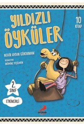 Erdem Yayınları 2. Sınıf Yıldızlı Öyküler Seti 10 Kitap 0