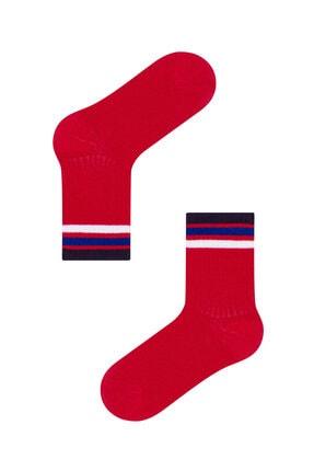 Penti Kırmızı-lacıvert Erkek Çocuk Wınner 2li Soket Çorap 1