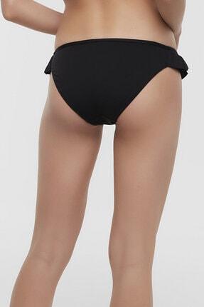 Penti Siyah Cute Side Fırfırlı Bikini Altı 2