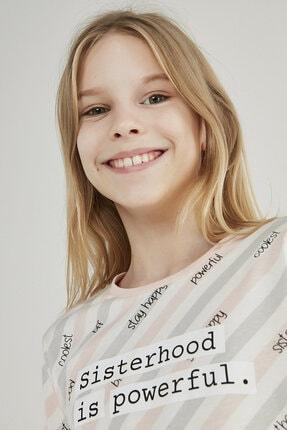 Penti Çok Renkli Teen Sısterhood 2li Pijama Takımı 3