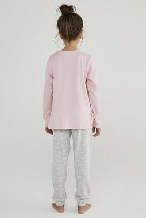 Penti Çok Renkli Kız Çocuk Hot Tech Snow 2li Pijama Takımı 3