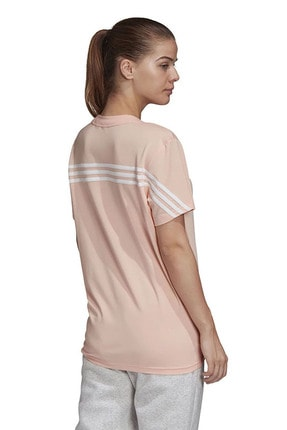 adidas W MH 3S SS TEE Somon Kadın T-Shirt 101118192 1