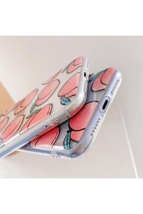 Mobildizayn Apple Iphone 11 Şeftali Desenli Kılıf 3