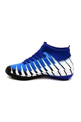 Lion 1453 Siyah Sax Çoraplı Halısaha Futbol Ayakkabısı 1
