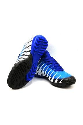 Lion 1453 Siyah Sax Çoraplı Halısaha Futbol Ayakkabısı 3