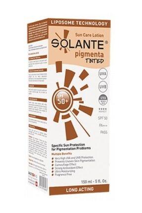 Solante Pigmenta Tinted Spf50+ Güneş Koruyucu Losyon 150ml | Koyu Lekelere Karşı Renkli Bakım 0