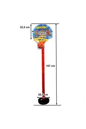 GÜÇLÜ Ayaklı Basketbol Potası 167 Cm 0