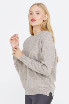 تصویر از ژاکت کش باف پشمی زنانه کد 20K2115-32289.1-R1227