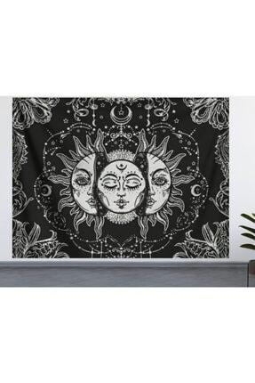 ALAMODE Güneş Ve Ay Duvar Örtüsü (70X100, 100X140, 140X200) Duvar Halısı 0