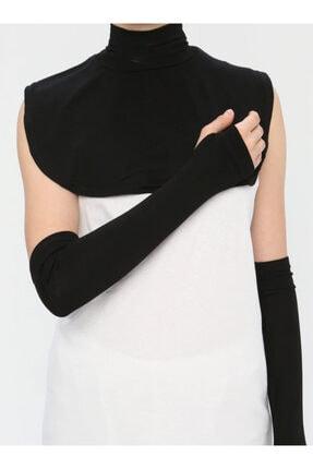 Ecardin Yakalık&kolluk Ikili Set- Siyah - 0