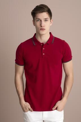 Tena Moda Erkek M.kırmızı Polo Yaka Tişört 2
