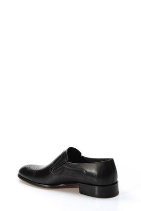Fast Step Hakiki Deri Kösele Siyah Antik Erkek Klasik Ayakkabı 893ma4404 2