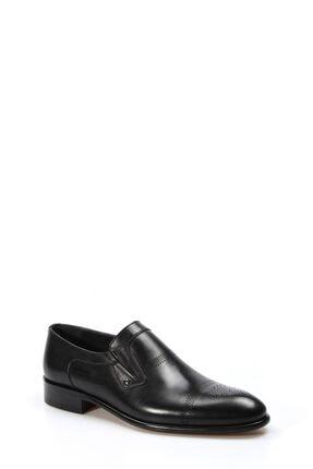 Fast Step Hakiki Deri Kösele Siyah Antik Erkek Klasik Ayakkabı 893ma4404 3