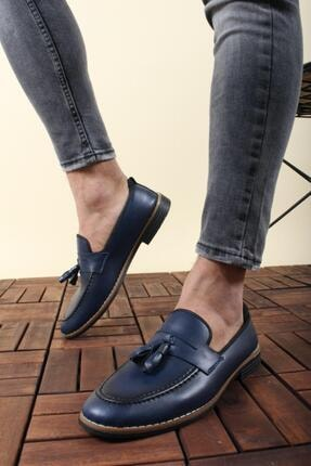 Oksit Hyman Püskülü Erkek Loafer Ayakkabı 0