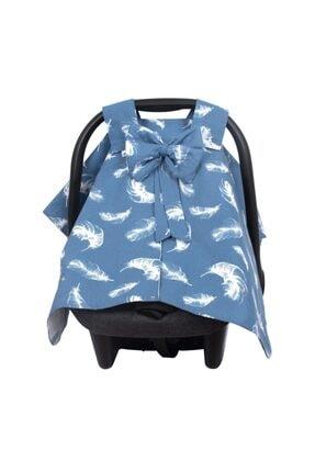 Sevi Bebe Fiyonklu Ana Kucağı Örtüsü Art-204 Tüy Desen 1