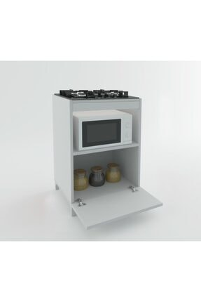 Kenzlife Ocak Dolabı Demi Byz 85*60*57 Mutfak Modül Mini Fırın Ankastre Ocak Için 0