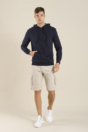 Oksit Edgar Pamuklu Slim Fit Sweatshirt 0
