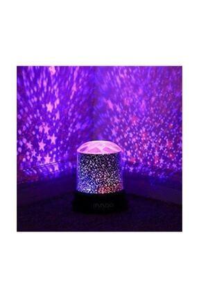 Ulbay Projeksiyon Gece Lambası Yıldızlı Led Lamba 1