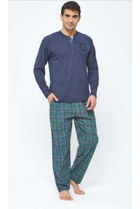 20420 Erkek 2 Iplik Erkek Pijama Takımı resmi
