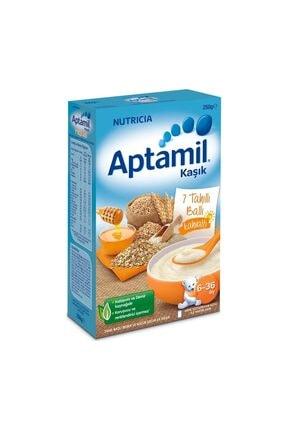 Aptamil 7 Tahıllı Ballı Kaşık Maması 250 gr 0