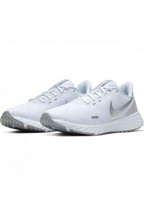 Nike Kadın Beyaz Revolution 5 Spor Ayakkabı Bq3207-100 2