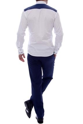 Efor P 888 Slim Fit Parlement Klasik Pantolon 1