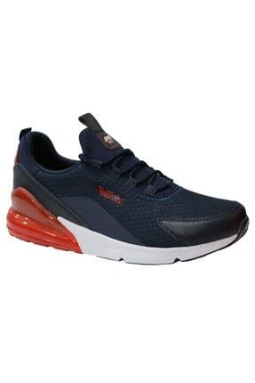 Wickers 2349 Lacivert-kırmızı Anatomik (40-44) Erkek Spor Ayakkabı 0