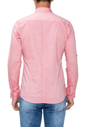 Efor Gk 475 Slim Fit Mercan Klasik Gömlek 2