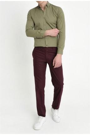 Efor P 888 Slim Fit Bordo Klasik Pantolon 2