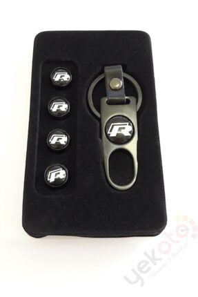 Yekoto R Metal Anahtarlık Ve Sibop Kapak Seti 1.kalite 2