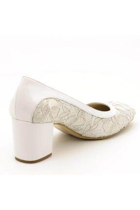 İriadam Kadın Beyaz Büyük Numara Ayakkabı 1924 1