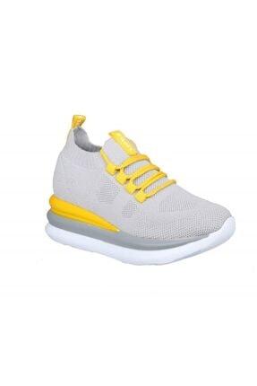 MP Ewoll 1037 Gri Kadın Sneakers 1