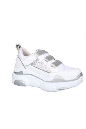 MP Ewoll 1026 Gumus Kadın Sneakers 1