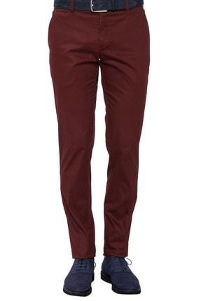 Efor P 1021 Slim Fit Bordo Spor Pantolon 2